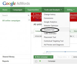 Using Google AdWords Keyword Tool To Find Most Searched Keywords For The Best Titles And Tags Of Your Hub