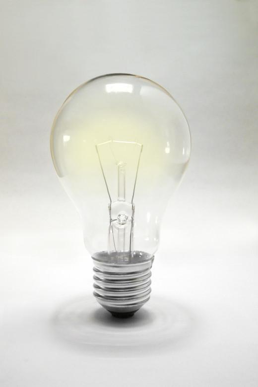 The idea bulb