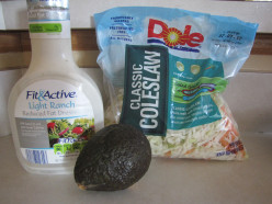 Easy Avocado Coleslaw Recipe