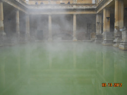 The mists of time? Nope, just hot, dirty water.