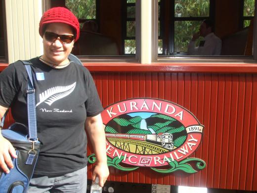 All Aboard - Kuranda Scenic Rail Carriage