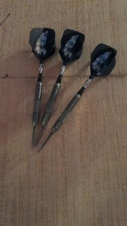 The Talon 25g darts