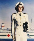 A US Navy Nurse. Nursing continues to be an important occupation in America.