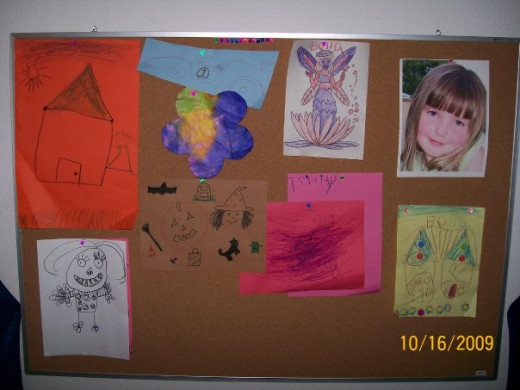 Art board in my FCC home