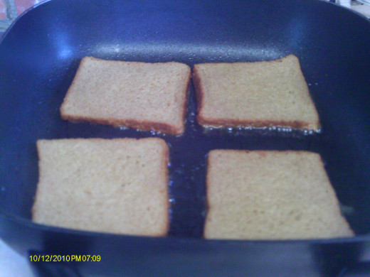 Cook on both sides until golden brown