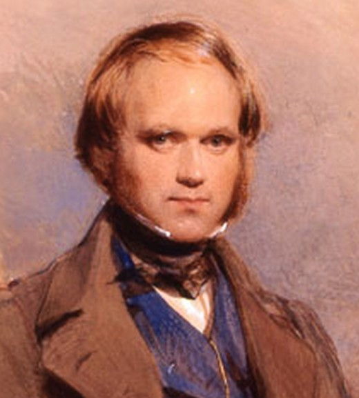 English naturalist Charles Darwin