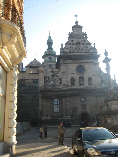 Dominican Church - the original wooden church was built in 1234 & was later rebuilt in the Baroque style. During the Soviet Union, the structure was occupied by Soviets & used as warehouse! Now it's converted into the museum of religion and atheim
