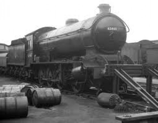 The last of NER Class in late British Railways' livery. Owned by the National Railway Museum, she is currently non-operational and can be seen at Head of Steam, Darlington in LNER livery as No. 901