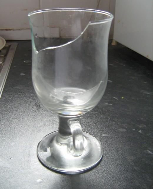 A Broken Glass