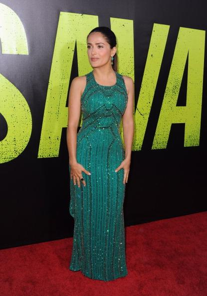 Salma Hayek-- could be a gramma, but look at her!