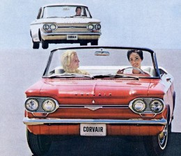 1964 Convertible Corvair by Chevrolet