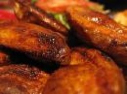 Easy to make Crisp Potato Wedges with Ribs to Spare