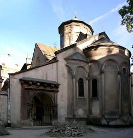 Armenian church in Lviv
