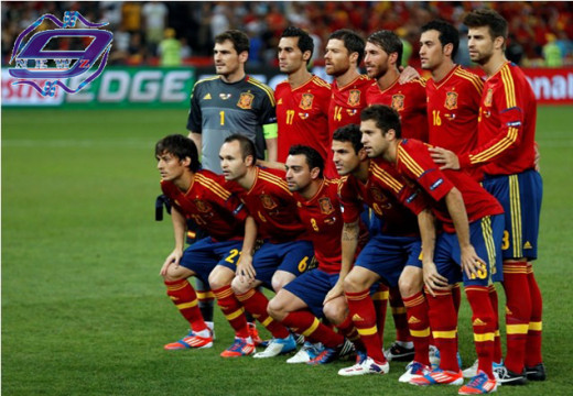 Spain at Euro Cup 2012