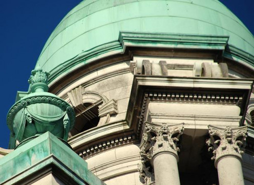 Domed turret, Belfast Technical College