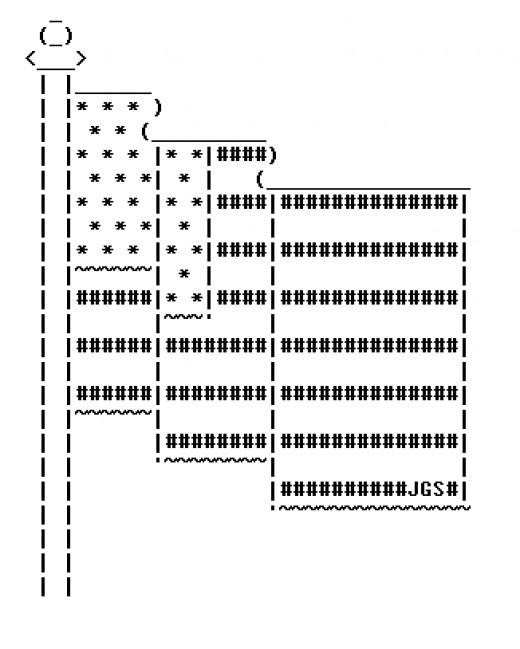 Ascii art small flag related keywords ascii art small for Roflcopter text