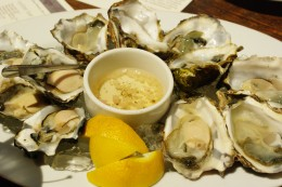 Oysters:  a great source of iron