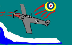 IN THE BATTLE OF BRITAIN THE SPITFIRE FOUGHT AGAINST THE GERMAN ME BF109