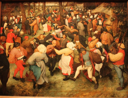"""The Wedding Dance"" by Pieter Bruegel"