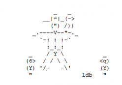 Crows, Ravens and Scarecrows in ASCII Text Art