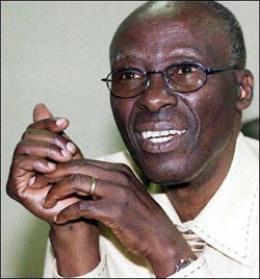 Minister Samuel Sipepa Nkomo