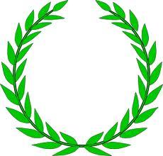 Olive wreath - sumbolizes education