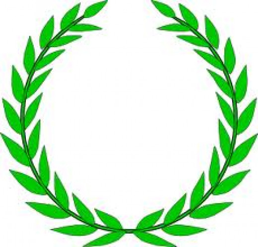 Olive wreath - sumbolizes education