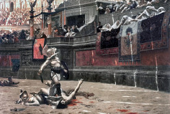 History of Roman Gladiators in Ancient Rome, Gladiator Schools and The Fights