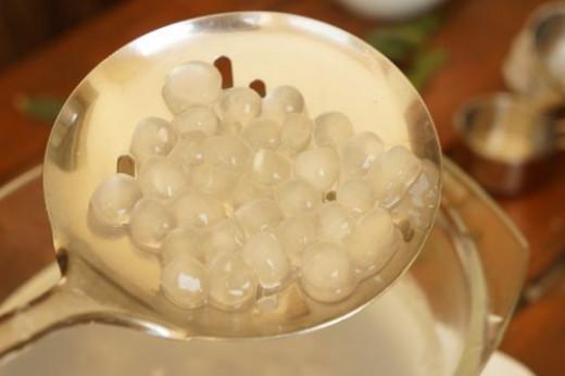 Tapioca pearl from scratch