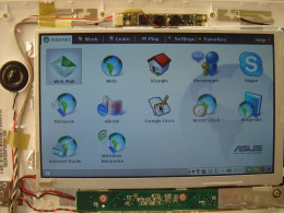 Original operating system had limited functions with does not support WebCam.