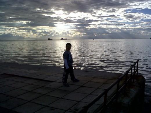 Thermaic Gulf at Sunset
