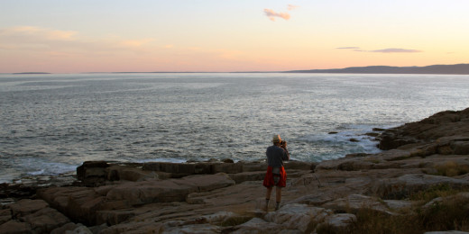 The Schoodic Peninsula provides an uncrowded opportunity to walk along the rocky Maine coastline