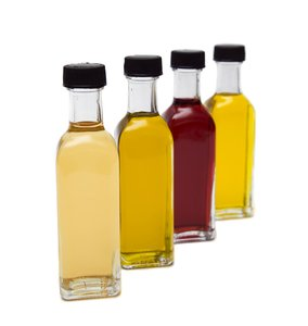 There are a variety of vinegars to choose from.