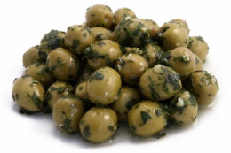 Olives are deliciously enhanced with a variety of vinegar dressings and marinades.