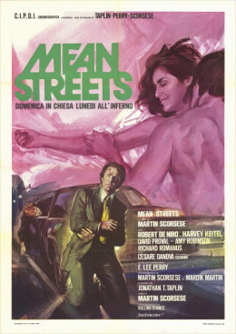 Mean Streets 1973 Italian poster