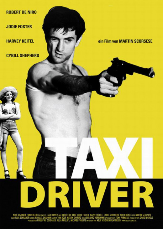 Taxi Driver (1976) German poster.