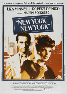 New York New York 1977 Italian poster