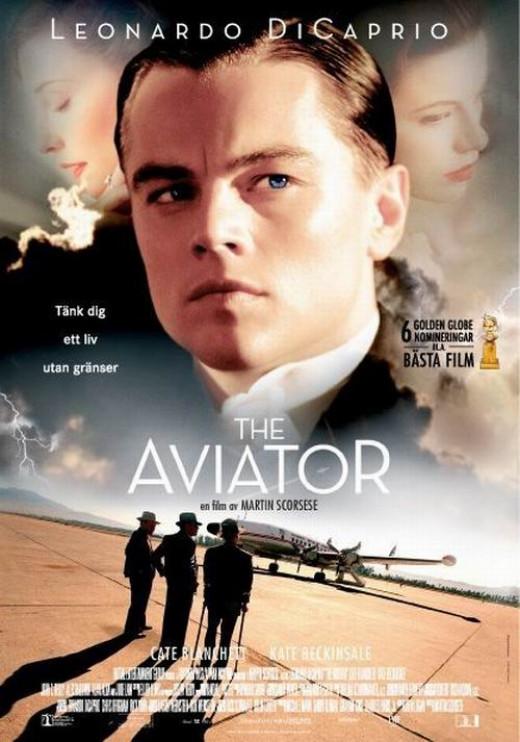 The Aviator (2004) Swedish poster