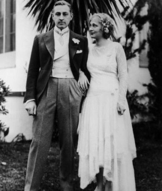 John Barrymore and Dolores Costello
