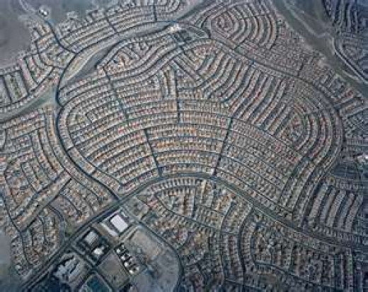 Urban Sprawl-Developed Country