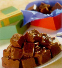 How to make chocolate fudge without much fuss