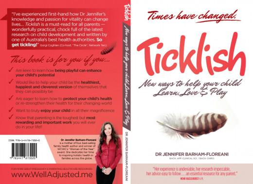 "As well as lots of practical advice for parents the Ticklish helps parents to find their core values, teaches them that it is OK to follow your own common sense and that it is not necessary to follow a ""cookbook"" style to parenting."