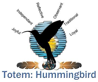 Totem: Hummingbird
