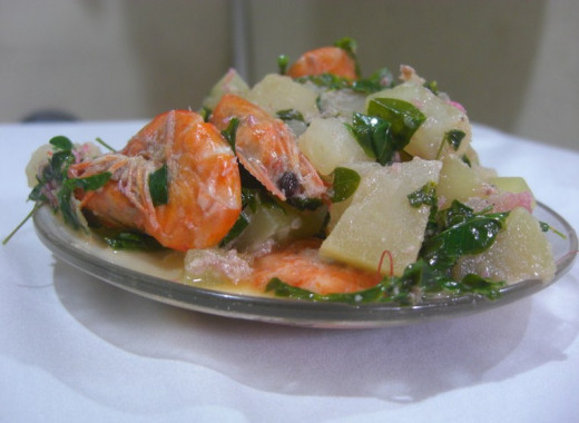 The Creamy Papaya and Shrimp Stew