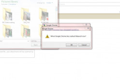 Google Chrome Crashes: Attempting Photo Uploads and Attachments With Yahoo Mail