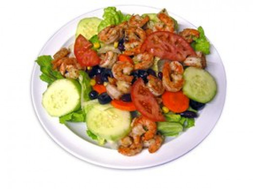 Enjoy this delicious shrimp salad.