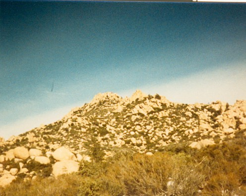 Here is a closer up picture of The Pinnacles.