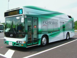 Hydrogen Fuel Cell Powered Bus