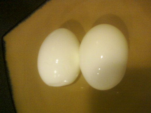 2 Boiled Egg Whites
