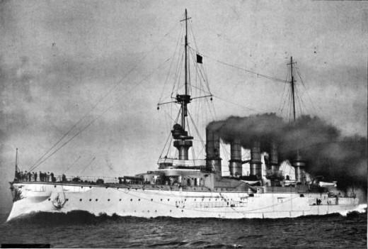 SMS Scharnhorst, flagship East Asia Squadron